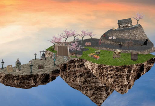 Fantasy Floating Farm Escape 2 1.0.2 APK MOD screenshots 1