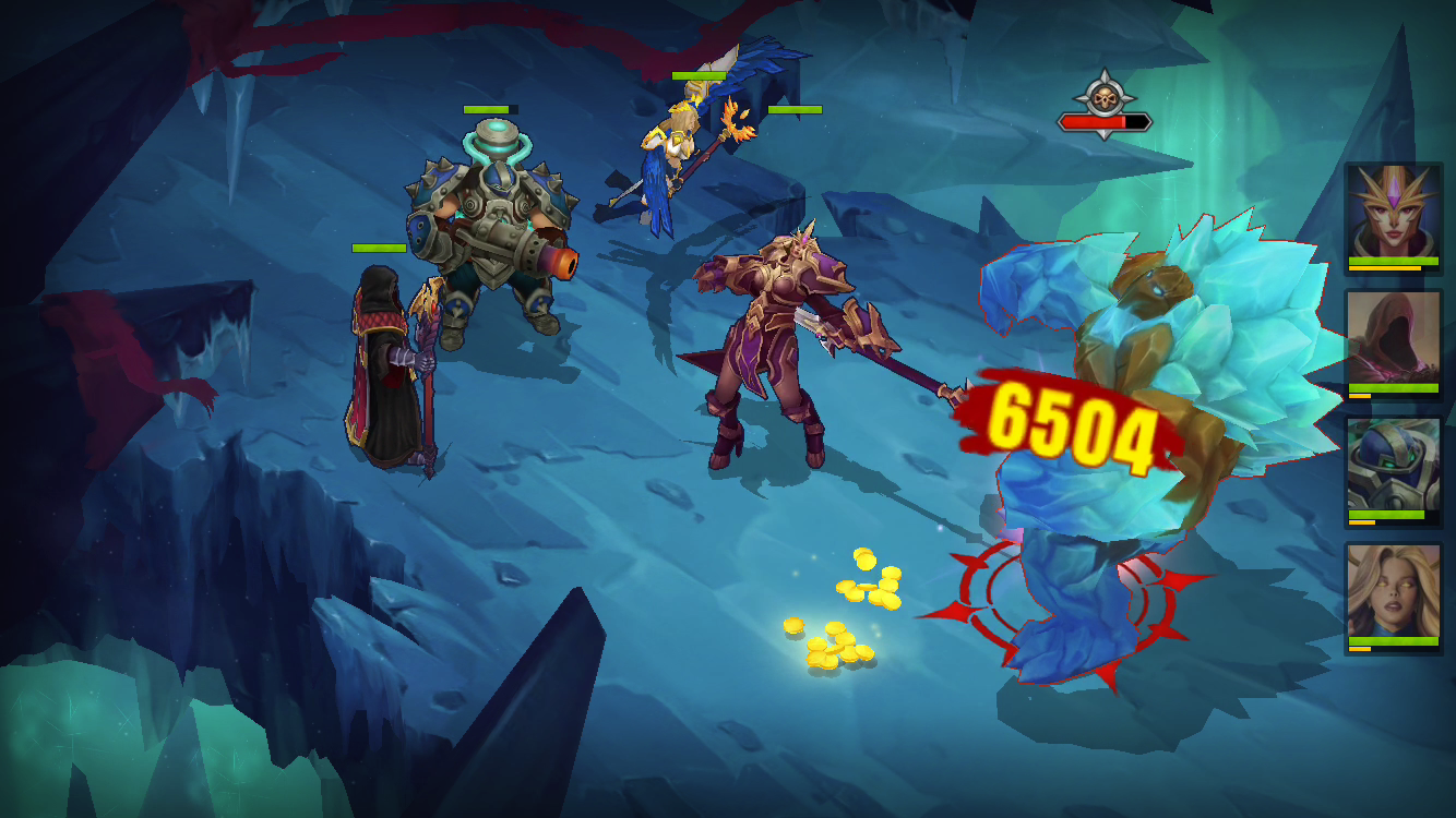 Juggernaut Wars: RPG Arena with dungeons & raids- screenshot