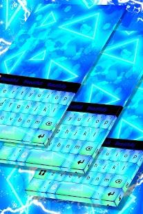 Světlá klávesnice Neon - náhled