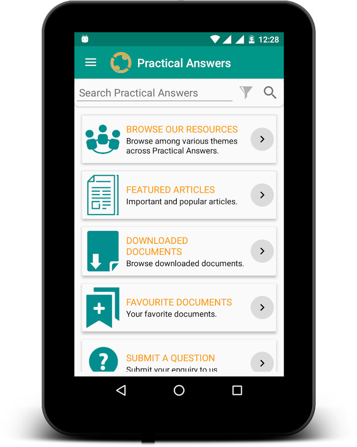 Practical Answers- screenshot