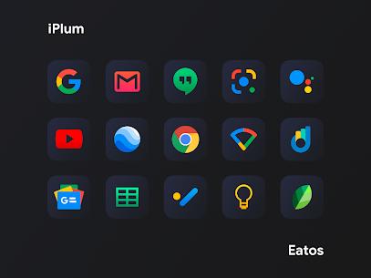 iPlum Black – Icon Pack (MOD, Paid) v1.0.9 5