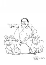 Photo: 小尸凶的漫画:宁波市公安局副局长王伟标