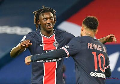 Ligue 1 : Moise Kean et Kylian Mbappé voient double face à Dijon