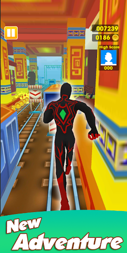 Super Heroes Run: Subway Runner 1.0.6 screenshots 1