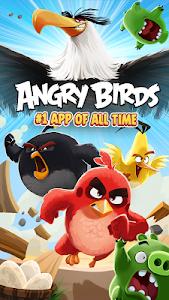 Angry Birds v6.1.2 Mod PowerUps + All Unlocked + Ad Free