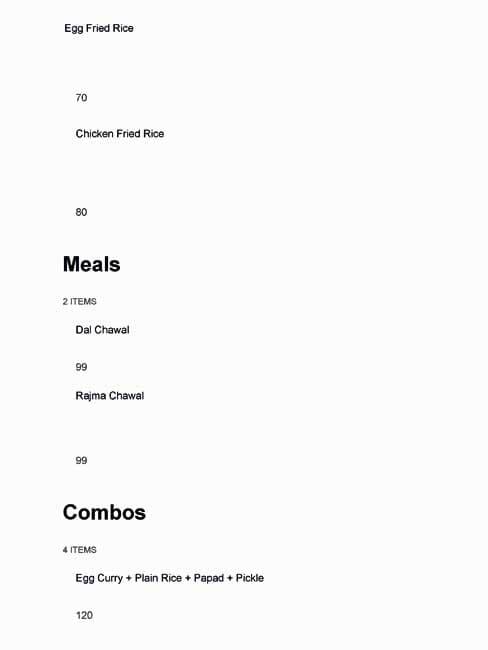 Jai Bhavani Dhaba menu 8