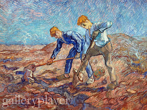 Photo: <The Diggers> by Vincent van Gogh 1889