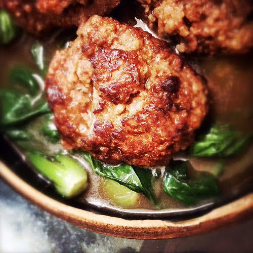 braised, chinese, Lion's Head Meatball, meatball, pork, recipe, shanghai, shanghainese, 上海, 獅子頭, 紅燒