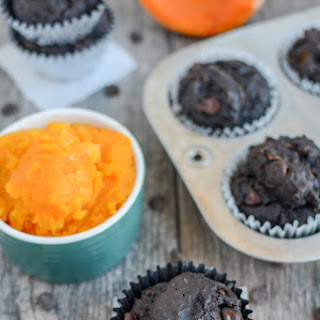 Chocolate Squash Muffins.