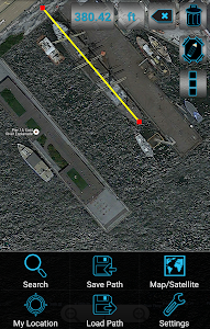 Maps Distance Ruler Lite screenshot 5