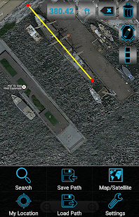 Maps Distance Ruler Lite- screenshot thumbnail