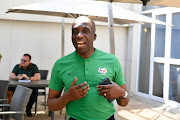 Head coach of the South African Olympic Team, David Notoane during the South Africa U/23 media open day at Milpark Garden Court Hotel on September 05, 2019 in Johannesburg, South Africa.