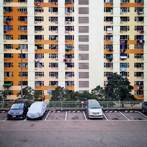 Hong Kong, Housing, Lai Yiu Estate,, public housing,  香港, 麗瑤邨, 公共房屋, 1970's