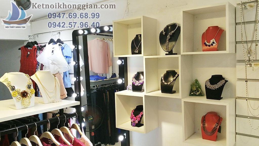 thi công shop thời trang nữ chất lượng cao, thiết kế shop thời trang