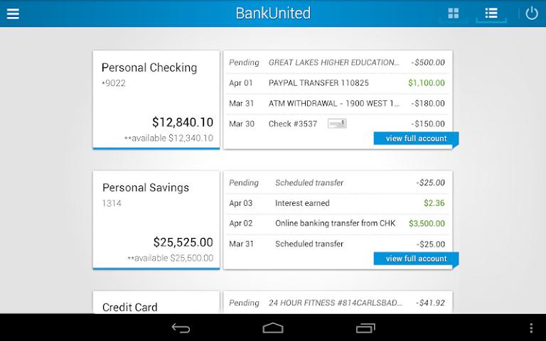 android BankUnited Screenshot 5