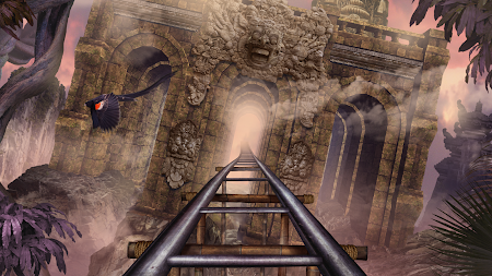 VR Roller Coaster Temple Rider APK screenshot thumbnail 3