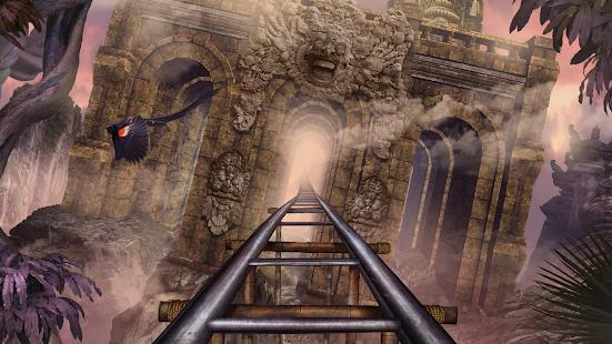 VR Roller Coaster Temple Rider - náhled