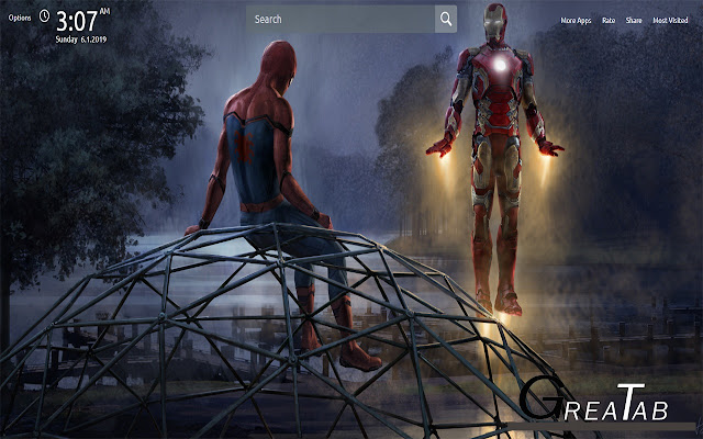 Spider Man Wallpapers Theme |GreaTab