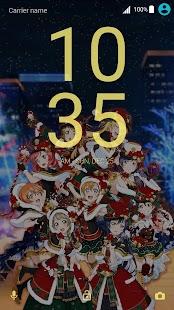 μ'sの聖誕物語 - Xperia Theme - náhled