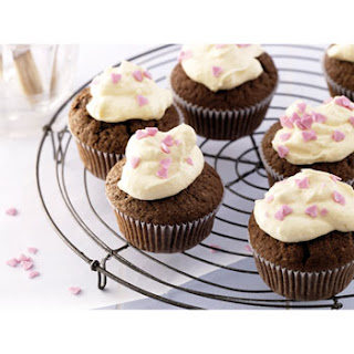 Chocolade Cupcakes Met Vanillecrème