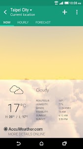 HTC Weather screenshot 0