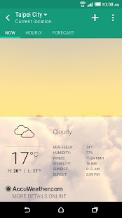 HTC Weather for PC-Windows 7,8,10 and Mac apk screenshot 1