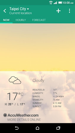 HTC Weather 8.00.803454 screenshot 622978