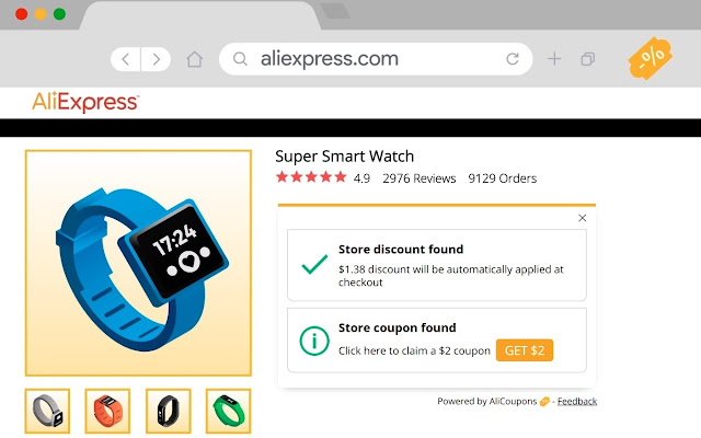 AliExpress Coupon Finder