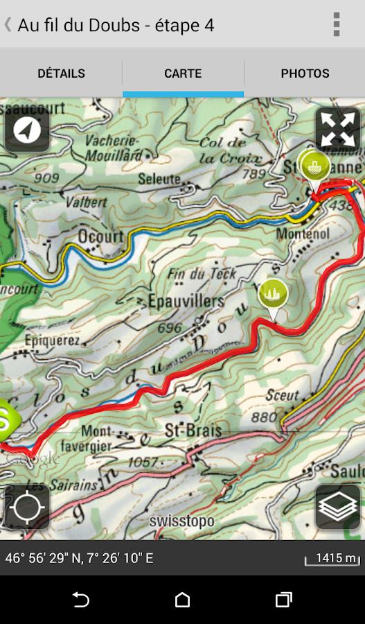 Parcs suisses - screenshot