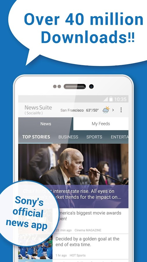 News Suite(Formerly Socialife)- screenshot