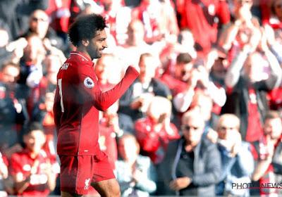 ? Wie anders? Mo Salah knalt Liverpool naar koppositie