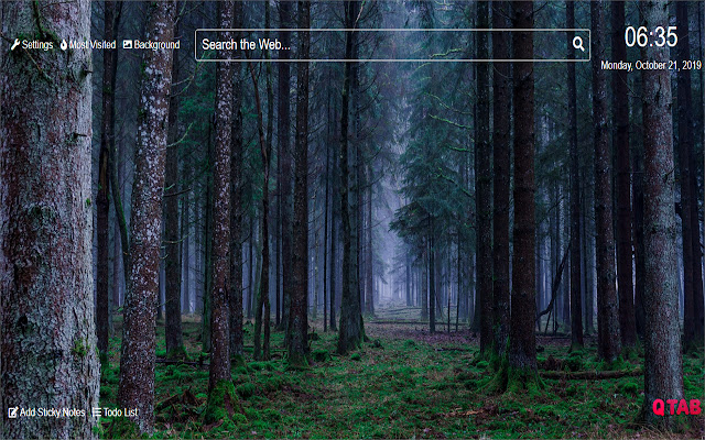 ForestWallpapers for New Tab
