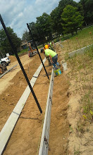 Photo: Curb forms 7-28-2014