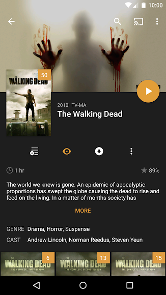 Plex for Android 4.30.1.170