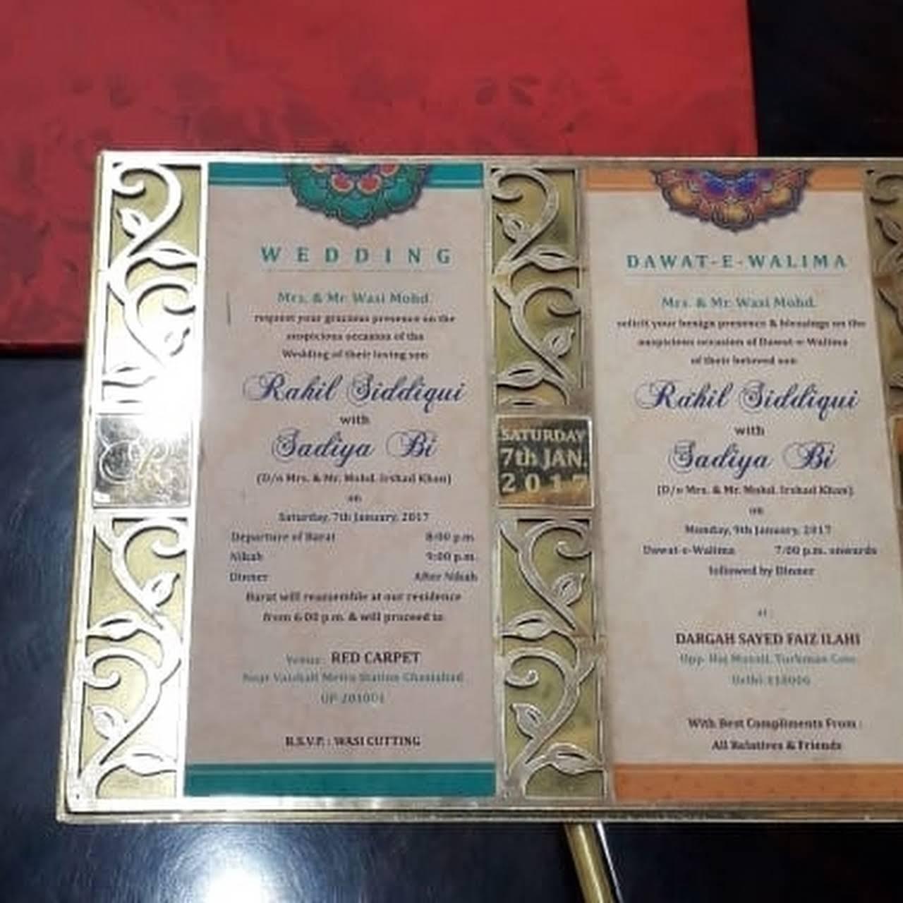 Weddon Wedding Card Wedding Card Printer Wedding Card Dealer