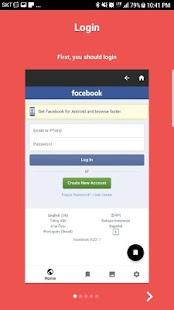 Saver for facebook - náhled
