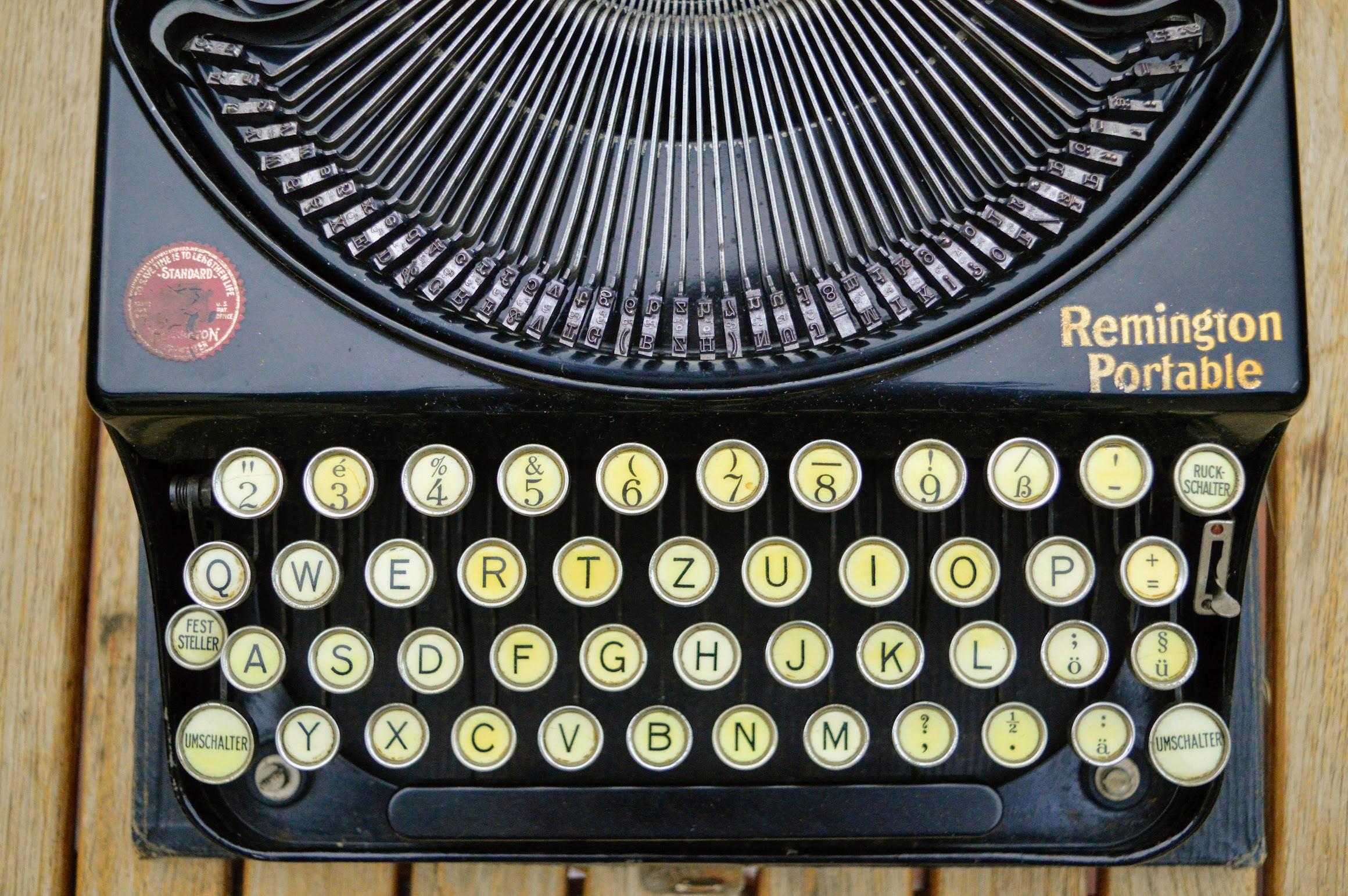 Remington Portable - Tastatur