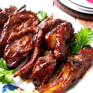 Oven Baked Country Pork Ribs.