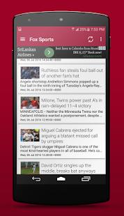 Baseball Scores & News - náhled