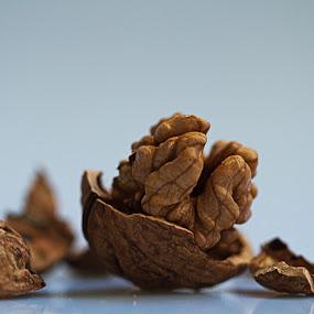 Nuts by Jean-marc Payet - Food & Drink Ingredients ( fruit, macro, food, légumes, nuts, noix )