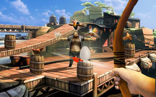 Télécharger Crazy Chicken Shooting Game : Archery Killing mod apk screenshots 4