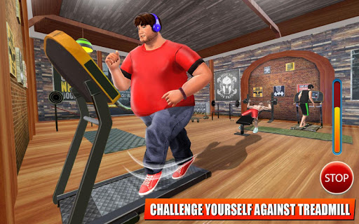 Fatboy Gym Workout: Fitness & Bodybuilding Games filehippodl screenshot 6