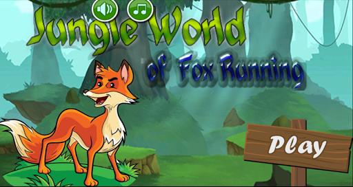 Jungle World of Fox Running