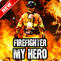 Firefighter My Hero Wallpaper icon