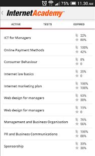 InternetAcademy - náhled