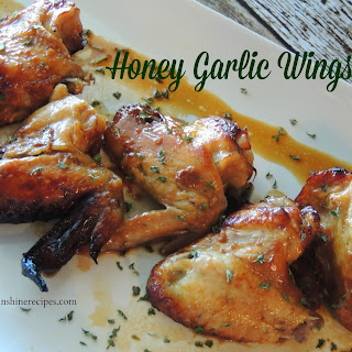 Honey Garlic Wings and a Book Review