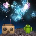 Fireworks VR Show on Cardboard icon