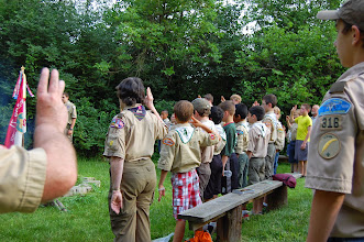 Photo: Re-affirming the Scout Oath