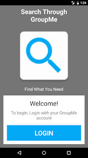 Search Through GroupMe - náhled