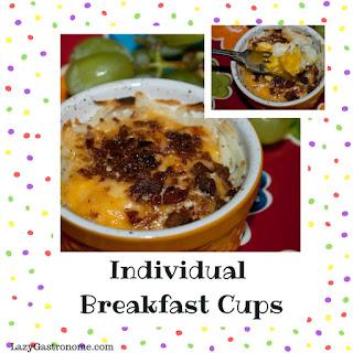 Individual Breakfast Cups.